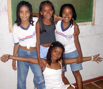 Girls at the Bahia Street Center