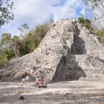 Wow! Coba was 13 stories tall.