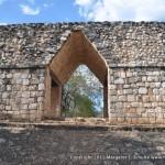 Gateway with arch at Ek'Balam.