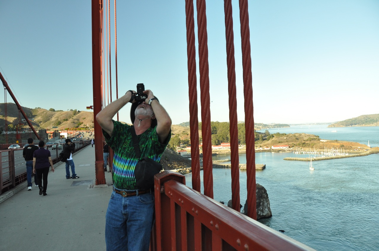 He was fascinated by the construction of the Golden Gate bridge