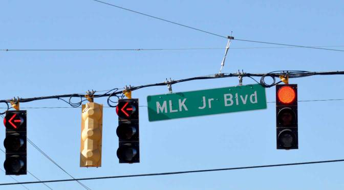 Turning onto MLK Jr Blvd