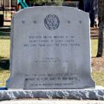 """Dedicated to the memory of the negro soldiers of Glynn County who died in service to their country"""