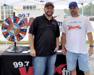 The guys from 99.7 Jack FM