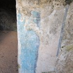 Original paint, Muyil. Many centuries old.