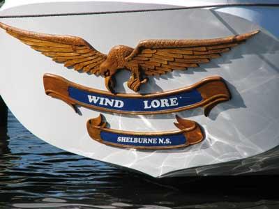 Wind Lore transom