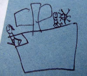 Emanuel's interpretation of a sailboat