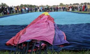 Watching a balloon unfold