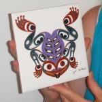 Frog trivet