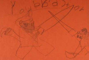 Gabriel's interpretation of pirates