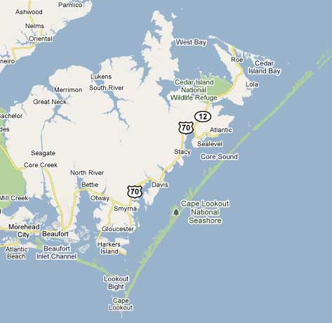 Google map of the end of the world