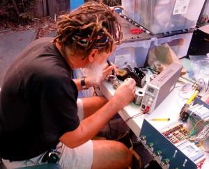 Roger, soldering