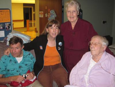 Hank and Margaret with Sisters Mary Pat and Mary Julia